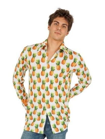 Ananas Herrenhemd