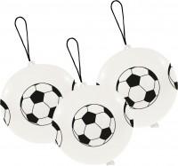 3er-Set Punchballs Fußball