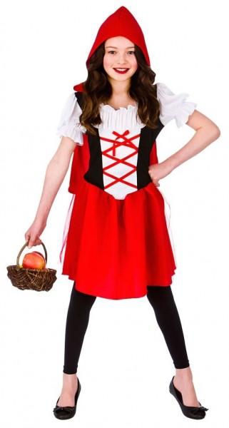 Märchenhaft Rotes Hauben Kinderkostüm