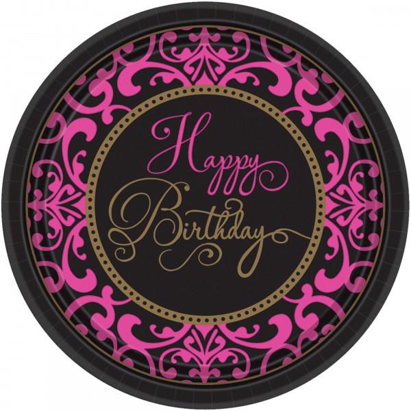 18 Fabulous Birthday Pappteller 18cm