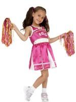 Sportliches Cheerleader Kinderkostüm