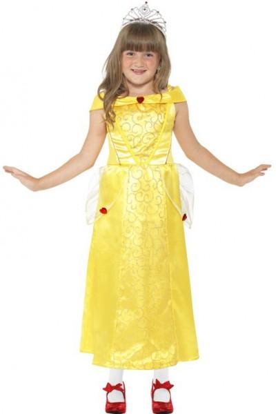 Gelbes Ballerina Kleid