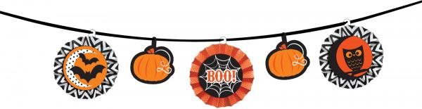 Guirlande d'Halloween effrayante et amusante 3.65m