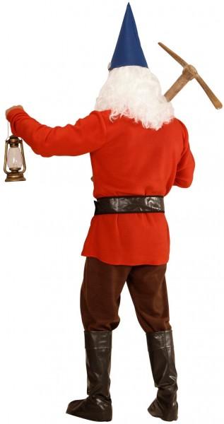 Rode dwerg heren kostuum