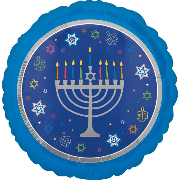 Happy Hanukkah Folienballon 45cm