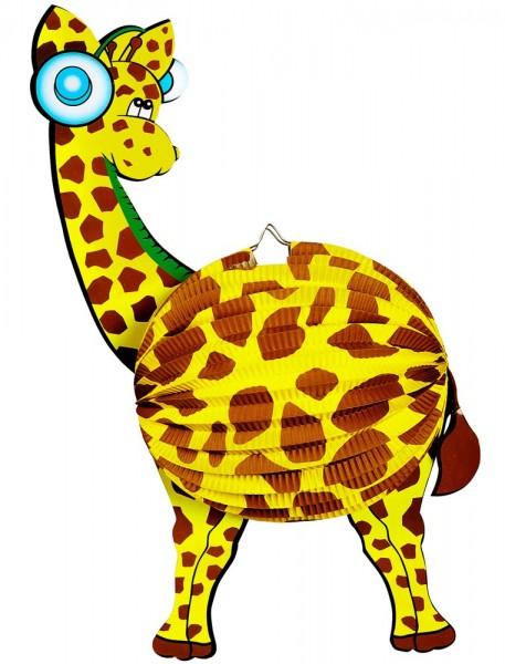 Lanterne girafe douce 44cm