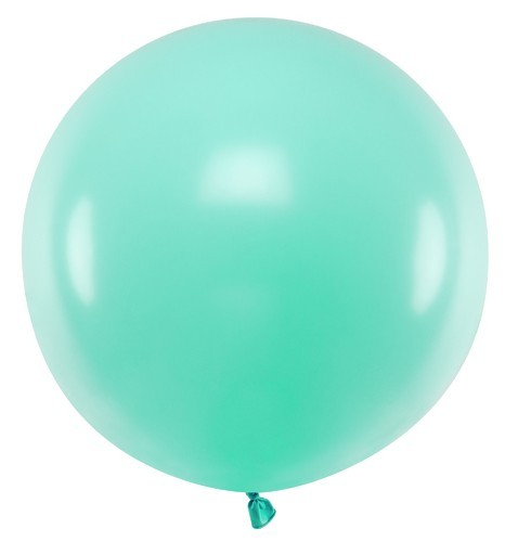 XL balloon party giant mint 60cm