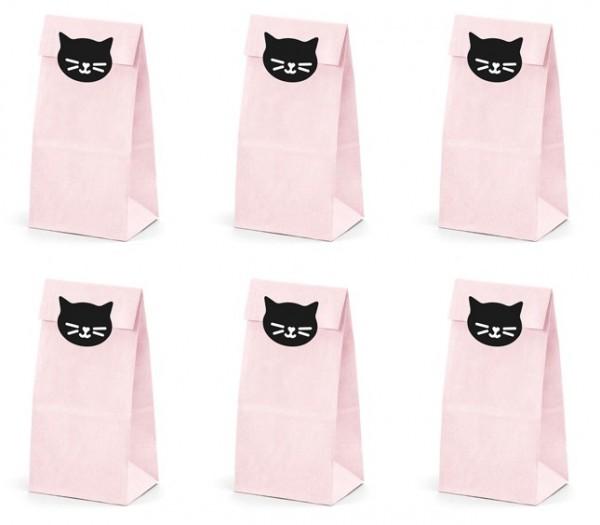 6 sacchetti regalo gattini Cat Kiki