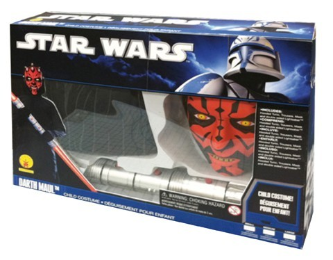 Star Wars Darth Maul Sith Lord child costume