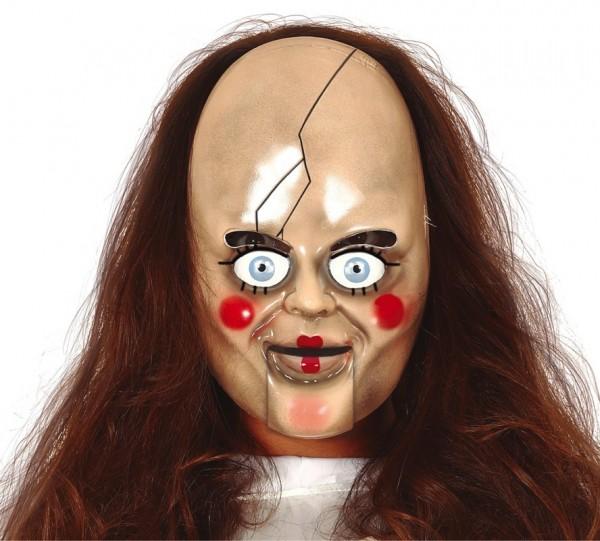 Horror Puppe Anna Maske