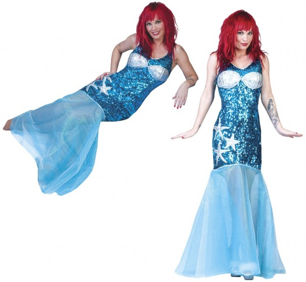 Meerjungfrau Merina Premium Kostüm