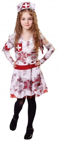 Berta Bloody Nurse Mädchenkostüm