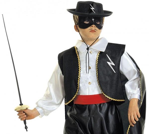 Schwarze Kinder Zarro Maske