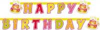 Birthday Cake Girlande 1,8m