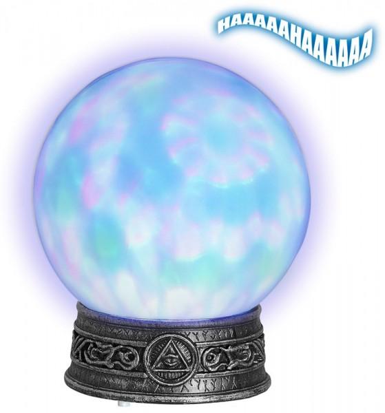 Kristallkugel Sound & Licht 20cm
