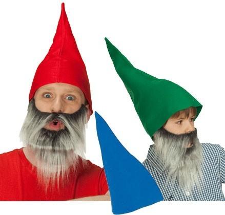 Chapeau nain drôle en 3 couleurs