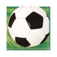 16 Servietten Soccer Team