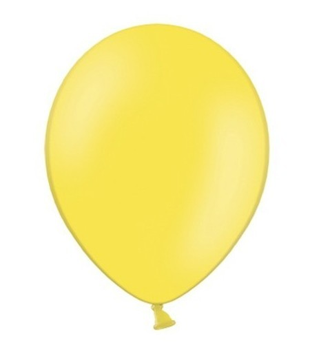 50 balonów Partystar cytrynowożółty 27 cm