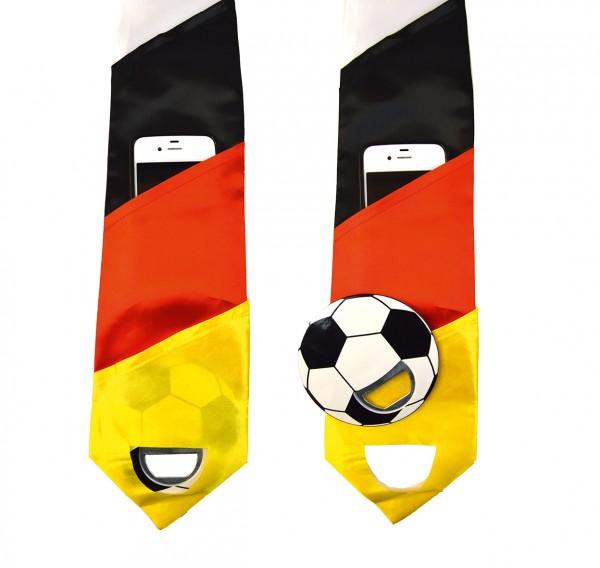 Deutschland Krawatte mit Flaschenöffner