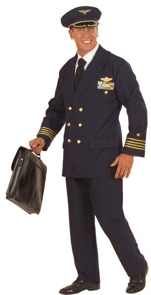 Serious Flint pilot costume