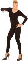 Body à manches longues pour femme noir