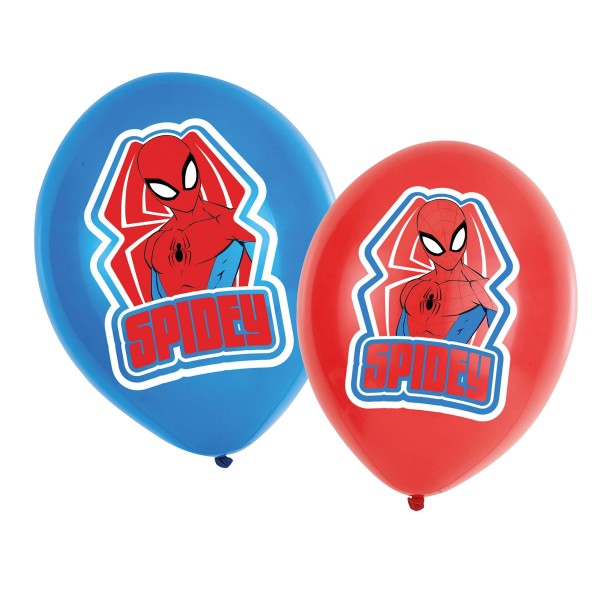 6 Life of Spiderman Ballons 27,5cm