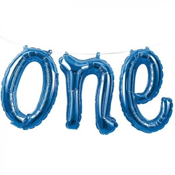 Erster Geburtstag One Folienballon-Girlande 1,5m