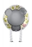 Ballon aluminium mini Koala Airwalker 43 cm