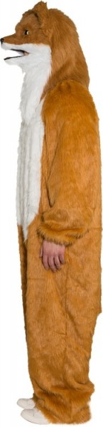 Pluche Fox Jumpsuit Unisex kostuum