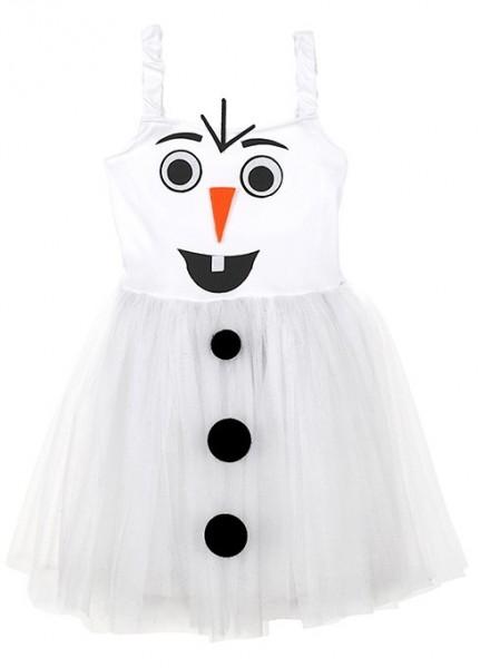 Schneemann Kostüm für Mädchen