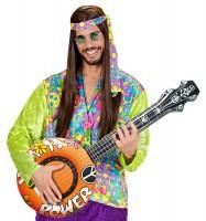 Aufblasbares Hippie Banjo