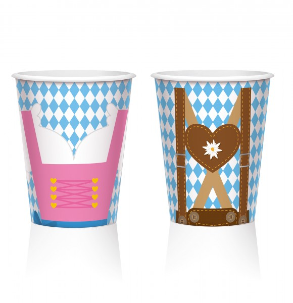 8 oz. Is paper cup 250ml