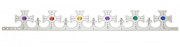 Anpassbare Krone Silber