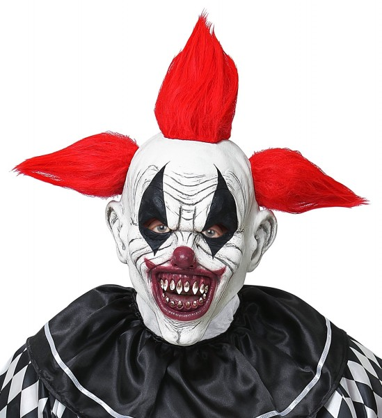 Horror Clown Fratze Ganzkopf Maske