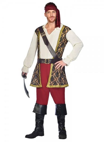 Deluxe Pirate Caspian Costume Men