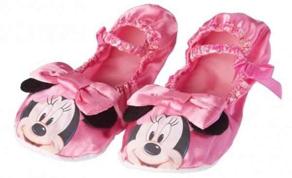 Pinke Minnie Mouse Balettschuhe für Kinder