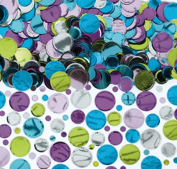 Konfetti Scheiben aus Folie