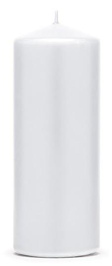 6 pijlerkaarsen Rio wit 15cm