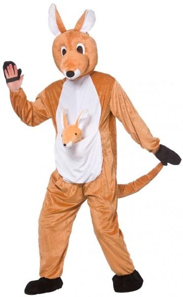Plüschiges Känguru Kostüm