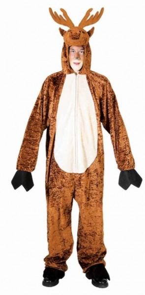 Disfraz de mono de reno para hombre
