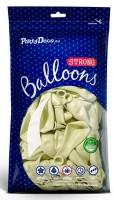 10 Partystar Luftballons creme 27cm