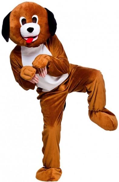 Niedlicher Hundewelpe Maskottchen Kostüm