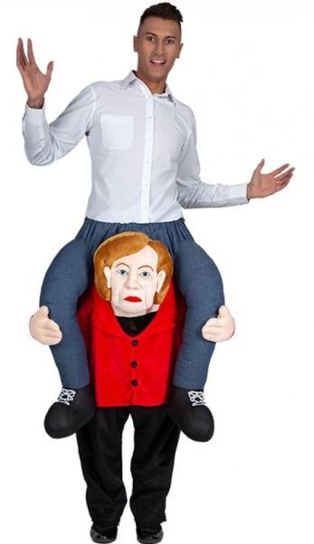 Chancellor piggyback costume