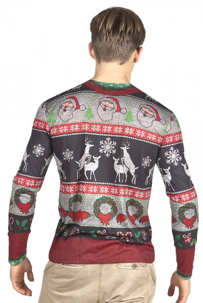 Hipster Christmas shirt for men