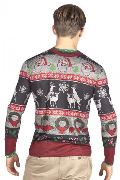 Camisa navideña hipster para hombre