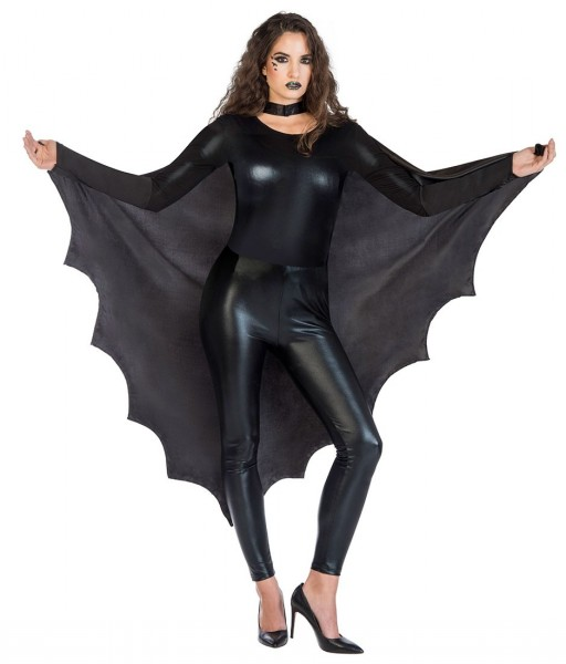 Mantello ali da pipistrello da donna