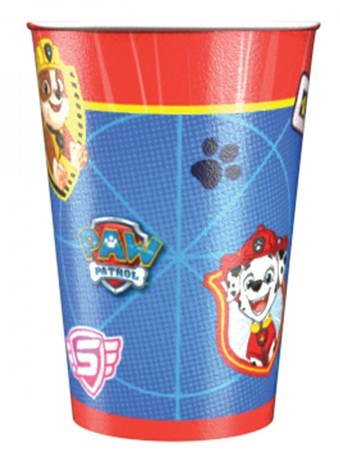 8 Paw Patrol Action Pappbecher 250ml