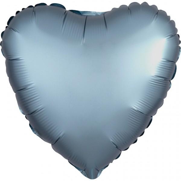 Palloncino in foil acciaio effetto satin