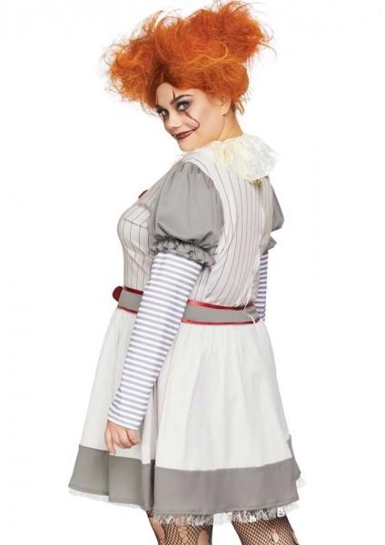 Horror clown dames plus size kostuum