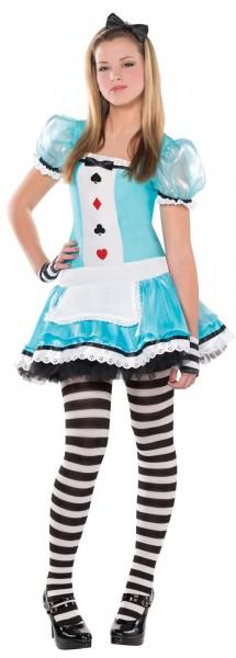 Süßes Alice Kostüm für Mädchen Deluxe